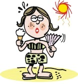 -girl-with-icecream-in-hot-sun-cartoon