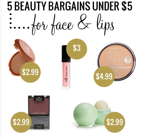 drug store beauty bargins