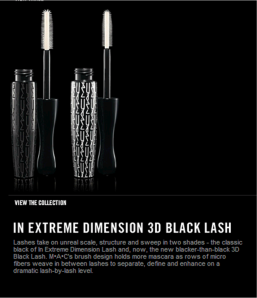New Mac Mascara
