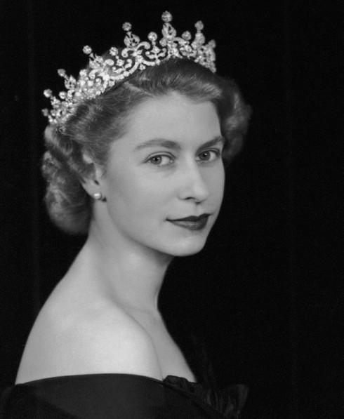 NPG x36963; Queen Elizabeth II by Dorothy Wilding