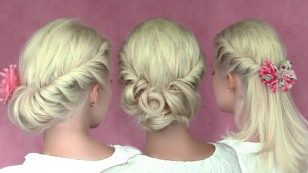 romantic-updo-hairstyles-for-medium-long-hair-hair-tutorial